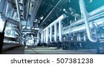 industrial zone  steel... | Shutterstock . vector #507381238