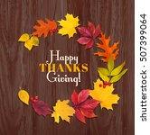 thanksgiving day background...   Shutterstock .eps vector #507399064