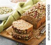 healthy gluten free banana... | Shutterstock . vector #507404500
