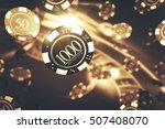 playing roulette game concept.... | Shutterstock . vector #507408070