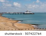 Eastbourne Pier And Beach ...