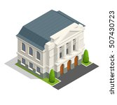 vector mayoralty isometric... | Shutterstock .eps vector #507430723