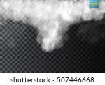 fog or smoke isolated... | Shutterstock .eps vector #507446668