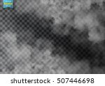 fog or smoke isolated... | Shutterstock .eps vector #507446698