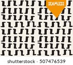 handsketched vector seamless... | Shutterstock .eps vector #507476539