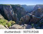 Black Canyon Of The Gunnison...