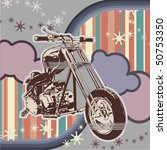 vector background with a...   Shutterstock .eps vector #50753350