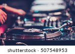 moscow 1may 2016  dj audio... | Shutterstock . vector #507548953