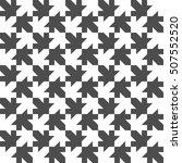seamless maple leaf pattern.... | Shutterstock . vector #507552520
