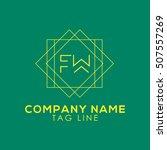 fw logo  | Shutterstock .eps vector #507557269