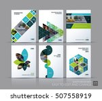 cover design annual report ... | Shutterstock .eps vector #507558919