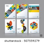 cover design annual report ... | Shutterstock .eps vector #507559279