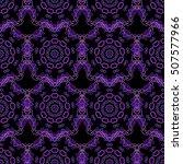 abstract pattern in arabian... | Shutterstock . vector #507577966