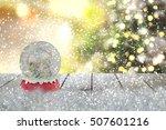 christmas snow globe | Shutterstock . vector #507601216