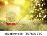 christmas snow globe | Shutterstock . vector #507601360