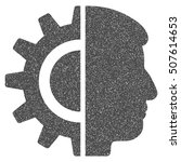 android robotics grainy...   Shutterstock .eps vector #507614653