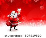 Cartoon Santa Claus Character...
