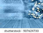 christmas table background | Shutterstock . vector #507624733