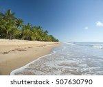 idyllic tropical getaway at... | Shutterstock . vector #507630790