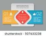 vector infographic template ... | Shutterstock .eps vector #507633238