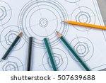 detail shot of architectural... | Shutterstock . vector #507639688
