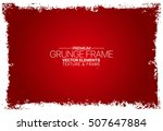 abstract red texture. stock... | Shutterstock .eps vector #507647884