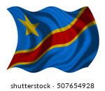 dr congo national official flag.... | Shutterstock . vector #507654928