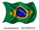 brazilian national official... | Shutterstock . vector #507655510