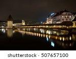 lucerne  switzerland   october... | Shutterstock . vector #507657100
