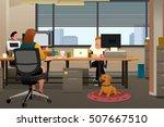 a vector illustration of... | Shutterstock .eps vector #507667510
