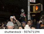 new york  ny usa   october 31 ... | Shutterstock . vector #507671194