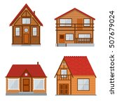 Wooden Country House  Cottage...