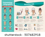vector illustrated set with... | Shutterstock .eps vector #507682918
