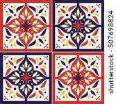 tile pattern vector seamless...   Shutterstock .eps vector #507698824