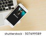 chiang mai  thailand   oct 21... | Shutterstock . vector #507699589