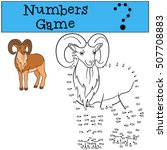 educational game  numbers game. ... | Shutterstock .eps vector #507708883