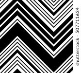 seamless zigzag pattern.... | Shutterstock .eps vector #507711634