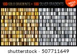 vector mega set of gradients ... | Shutterstock .eps vector #507711649