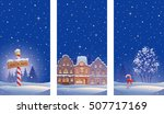 vector drawing of christmas... | Shutterstock .eps vector #507717169