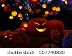 vietnamese halloween. halloween ... | Shutterstock . vector #507740830