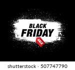 black friday sale banner | Shutterstock .eps vector #507747790