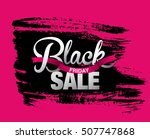 black friday sale banner | Shutterstock .eps vector #507747868