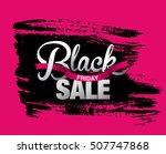 black friday sale banner | Shutterstock .eps vector #507747868