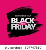 black friday sale banner | Shutterstock .eps vector #507747880