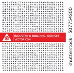 industry and building icon set... | Shutterstock .eps vector #507754300