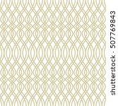 geometric seamless pattern.... | Shutterstock .eps vector #507769843
