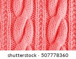 sweater or scarf texture large... | Shutterstock . vector #507778360