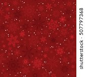 vector christmas and new year... | Shutterstock .eps vector #507797368
