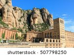 Spain. Mountain Montserrat....