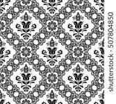 oriental classic pattern....   Shutterstock . vector #507804850